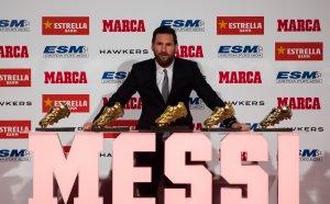 Лео Меси взе рекордна пета Златна обувка
