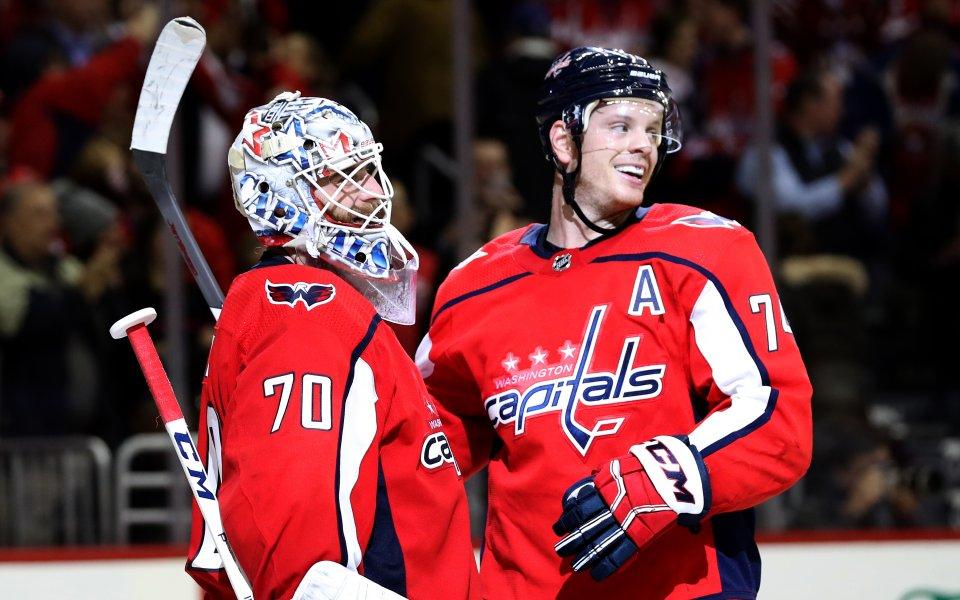Шампионът Вашингтон с трудна победа в НХЛ