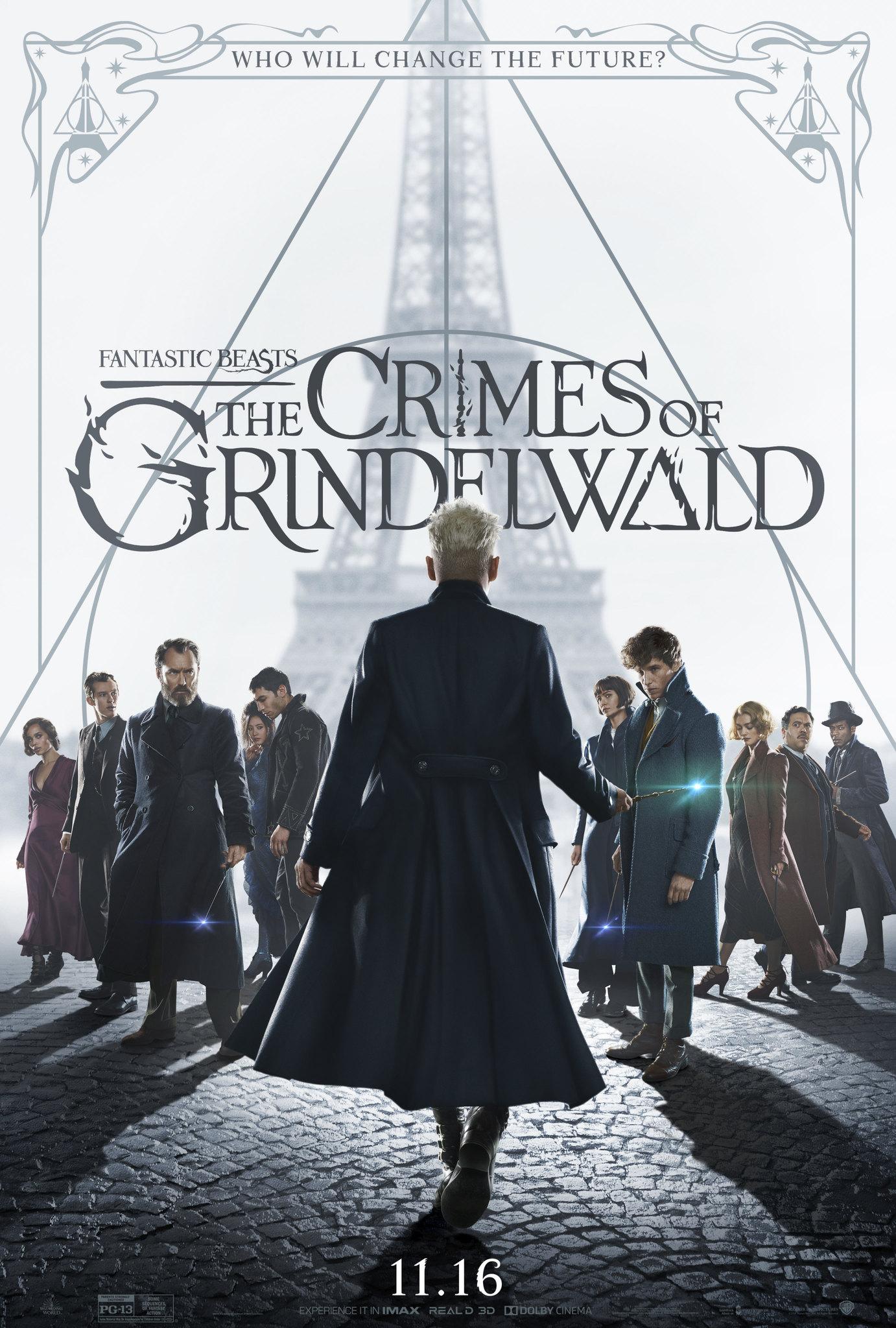 """5. Fantastic Beasts: The Crimes of Grindelwald / """"Фантастични животни: Престъпленията на Гринделвалд"""" – Режисьор: Дейвид Йейтс; Участват: Еди Редмейн, Джони Деп, Джуд Лоу"""
