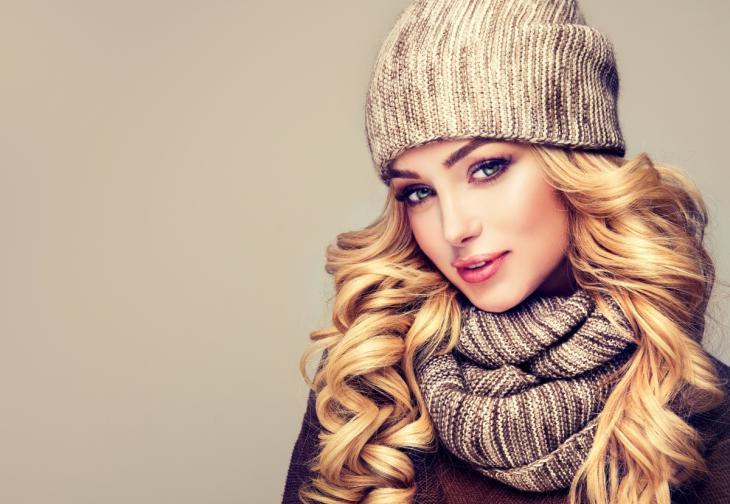 коса зима грижи