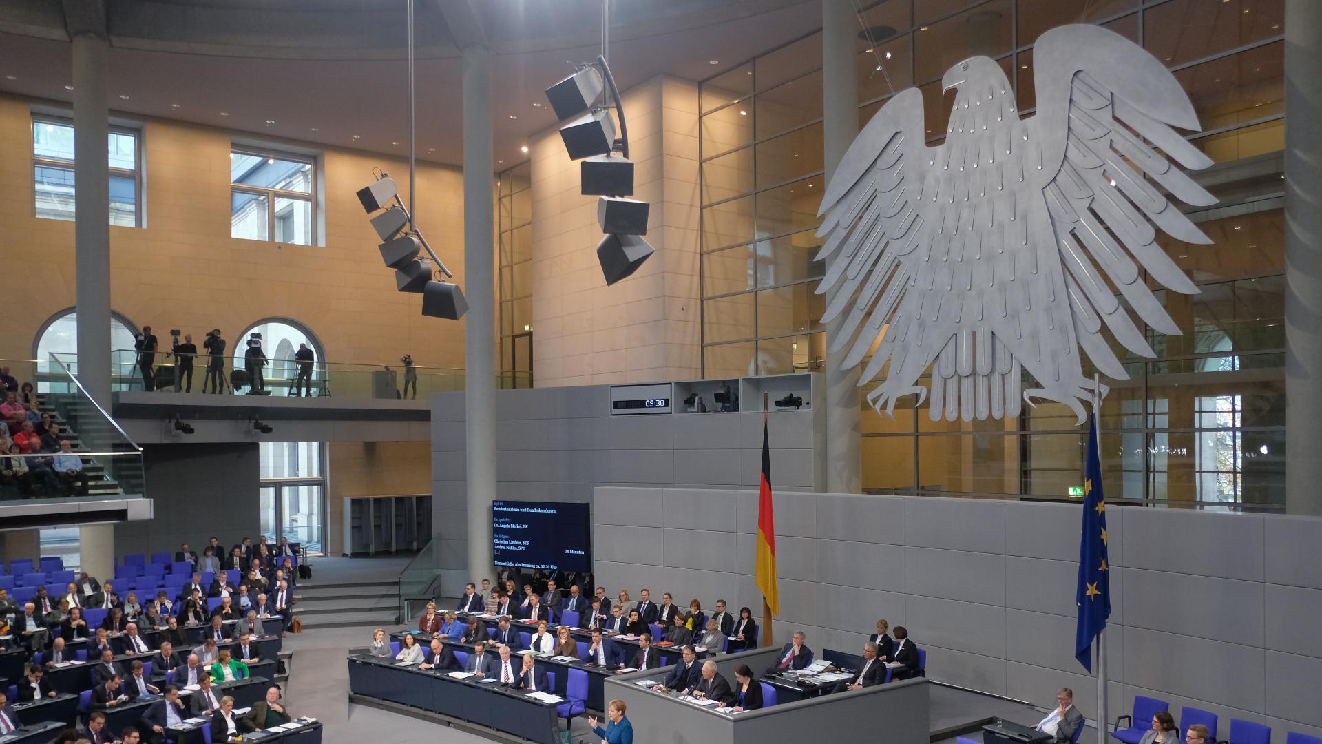 Хакери публикуваха личните данни на Бундестага