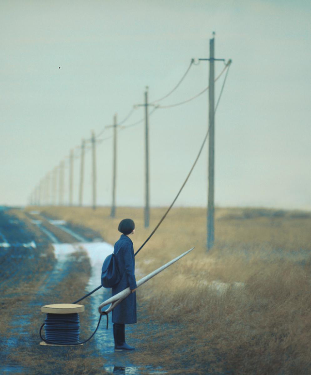 Олег Оприско е украински фотограф, който се вдъхновява от реалността, за да създава невероятни сюжети.