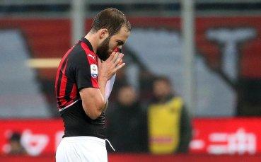 Сделката изглежда опечена: Милан без Игуаин на снимките