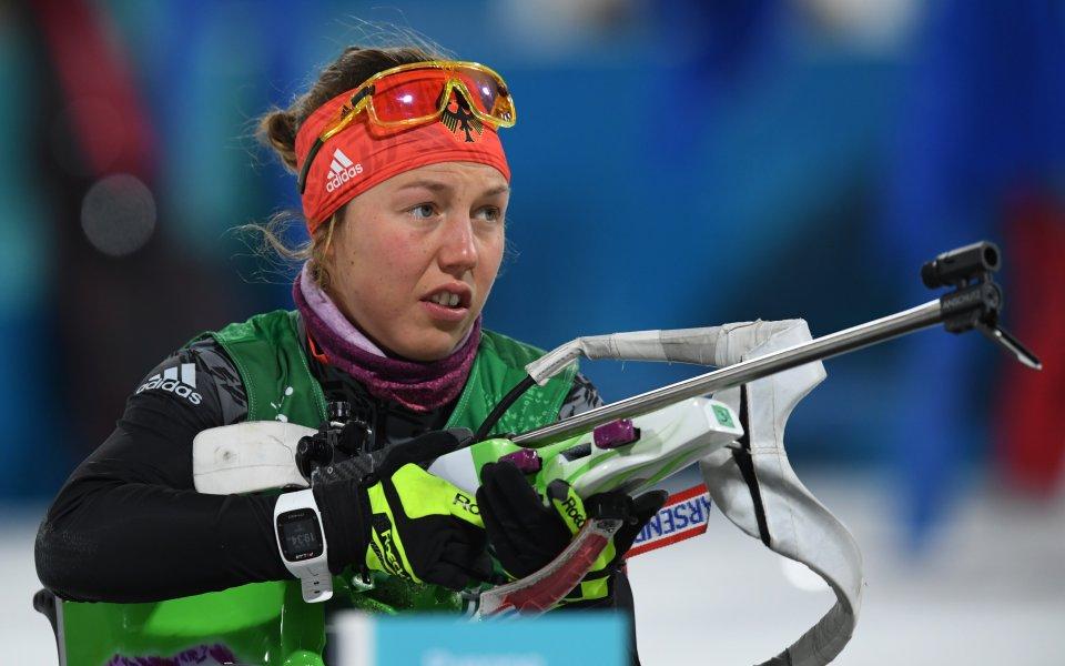 Олимпийска шампионка смени биатлона с бягането