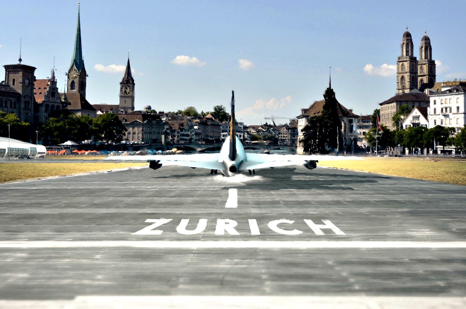 Летище Цюрих-Клотен<br /> Швейцария е известна по целия свят със своята красива природа и неповторими пейзажи. Най-голямото летище в страната – Цюрих-Клотен, обслужващо Цюрих и общините около него, не прави изключение. На неговата територия се намира 74-хетара запазена естествена природа с нейния животински свят.