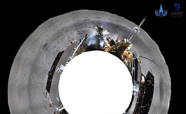 Първи кадри от тъмната страна на Луната