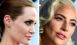 <p>Анджелина Джоли и Лейди Гага<strong> в надпревара</strong></p>