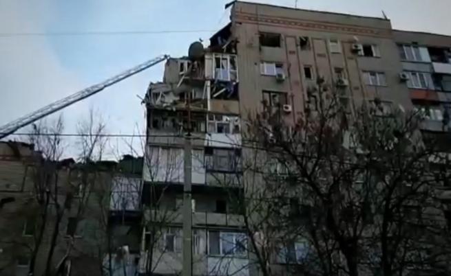 Взрив на газ разруши част от жилищна сграда в Русия