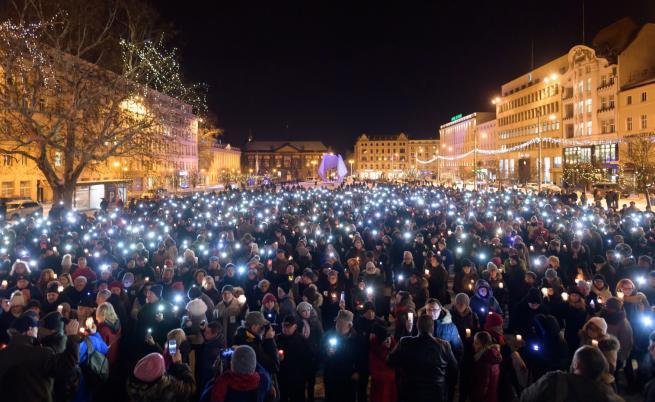Бдения в памет на убития кмет заляха Полша