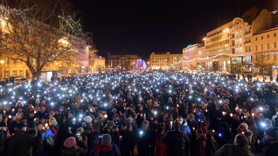 <p>Бдения в памет на <strong>убития кмет</strong> заляха <strong>Полша</strong></p>
