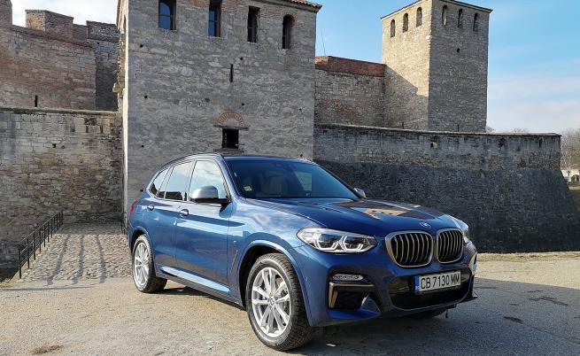 BMW X3 M40i е мехлем за сетивата (тест драйв)