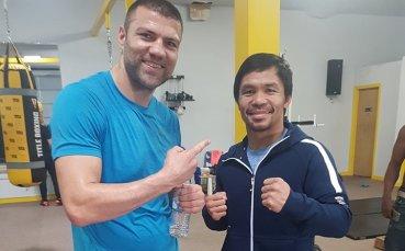 Тервел Пулев се засече с известни боксьори в Лас Вегас