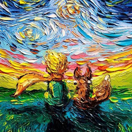 2. Кога откри любовта си към изкуството?<br /> - Бях наистина малка. Майка ми беше художник, а баба ми декоративен художник, така че от малка бях изправена пред изкуството. На 16 в гимназията реших, че искам да стана художник. След това пък ме приеха в колежа по изкуства Монсерат в Бевърли, Масачузетс, със стипендия за рисуване.
