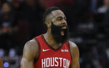Хардън пак вилня в НБА, Хюстън би Лейкърс /репортаж/