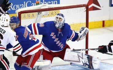 Лундквист излезе 6-ти по победи в НХЛ след успех на Рейнджърс срещу Бостън