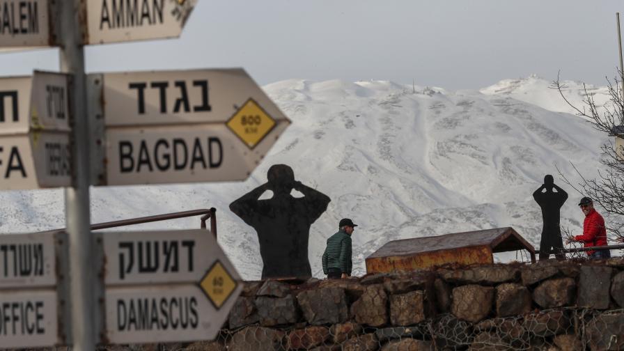 Израел удари ирански склад в Сирия