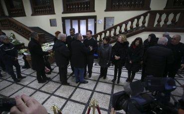 Стотици си взеха последно сбогом с Иван Вуцов