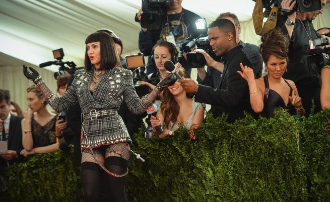 Мадона в стил Бети Пейдж (2013)