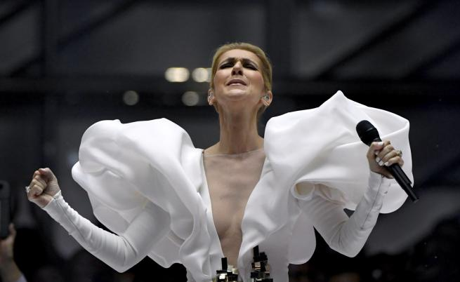 Селин Дион обра овациите в Париж, плака на ревю