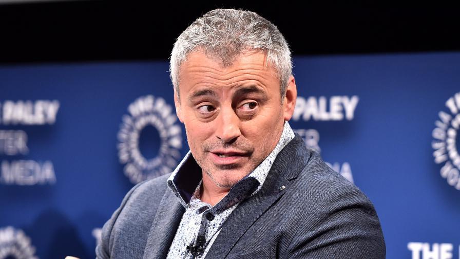 Хлапе към Мат Лебланк: О, боже, ти си бащата на Джоуи!