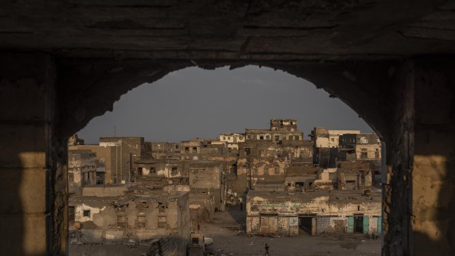 Снимка: Getty Images/ Цената на войната по западното крайбрежие на Йемен