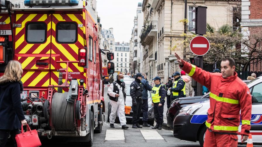 9 загинали при пожар в Париж, има арестуван