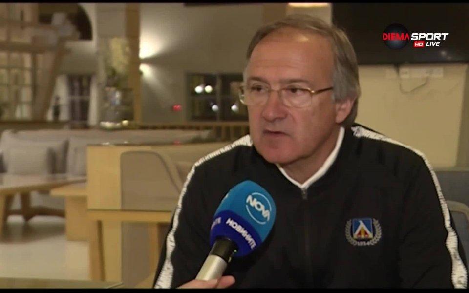Георги Дерменджиев: Много е важно кои ще бъдат лидерите на Левски