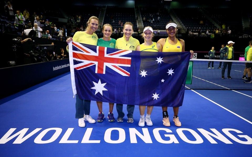 Австралия се класира за полуфиналите на