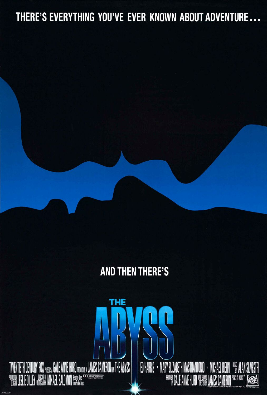"""The Abyss / """"Бездната"""" (1989) – Режисьор: Джеймс Камерън; Участват: Ед Харис, Майкъл Бийн, Мери Елизабет Мастрантонио."""