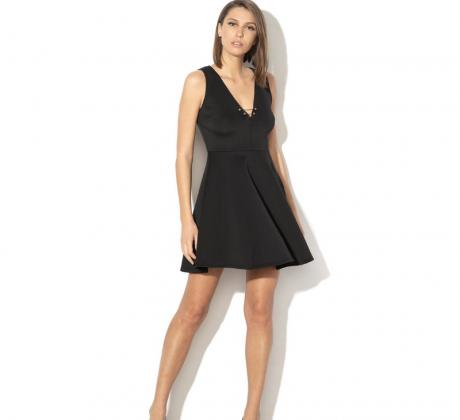 Промоция на Разкроена рокля GUESS JEANS Разкроена рокля