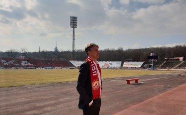 Шеф в ЦСКА: Видях тигър в очите на Любо Пенев преди дербито с Левски