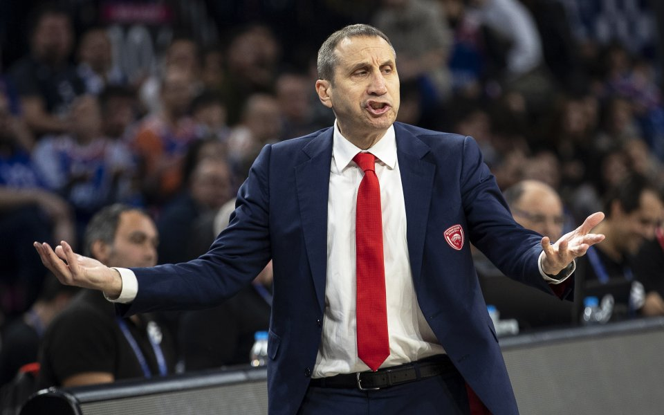 Пълна неяснота в гръцкия баскетбол, плейофите за Олимпиакос са под въпрос