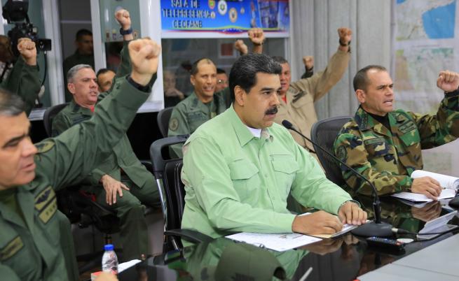 Две жертви след открит огън на венецуелските войски