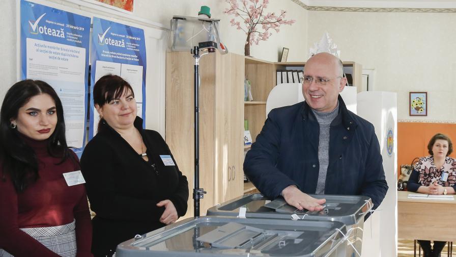 <p>Молдова обвинява Русия за намеса в изборите</p>