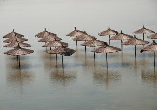 Силен вятър и наводнения в Корфу