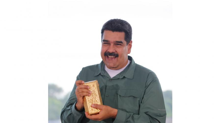 8 тона злато са изнесени от централната банка на Венецуела