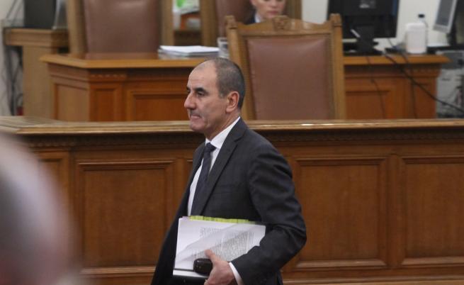 Цветанов: Ще отхвърлим президентското вето върху промените в Изборния кодекс