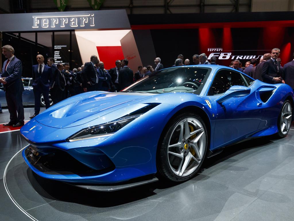 Ferrari F8 Triturbo