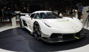 Хиперавтомобилът на Koenigsegg заявява максимална скорост 480 км/ч