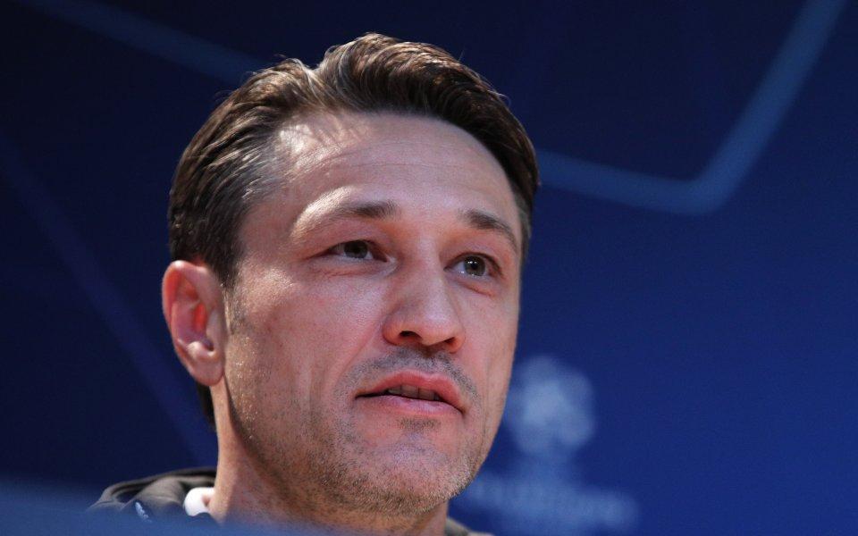 Старши треньорът на Байерн Мюнхен Нико Ковач призна, че е