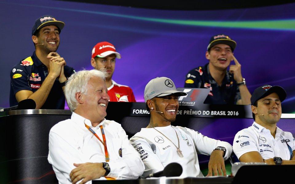 Големите звезди във Формула 1 в шок от смъртта на Уайтинг