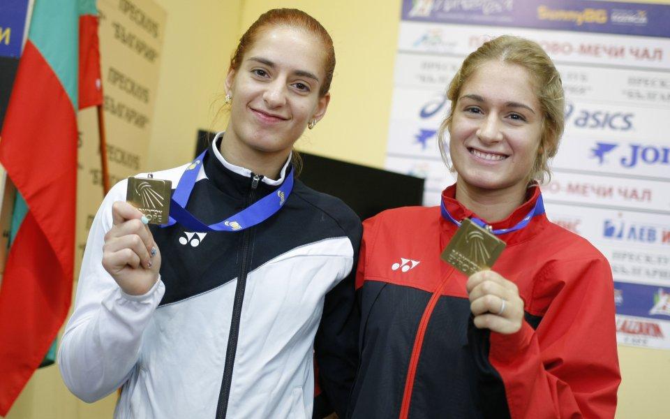 Габриела и Стефани Стоеви триумфираха с титлата при женските двойки