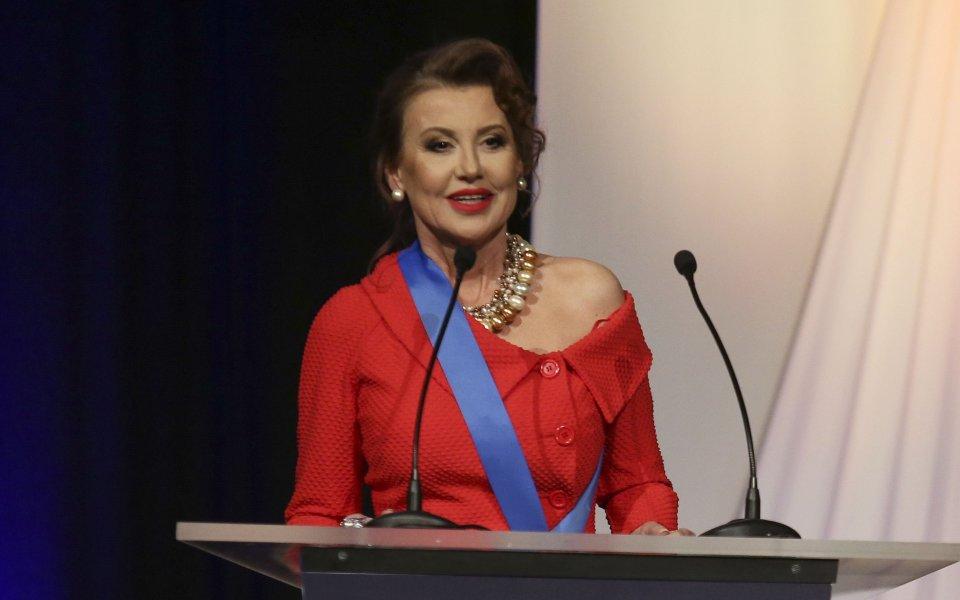 Президентът на Българската федерация по художествена гимнастика Илиана Раева благодари
