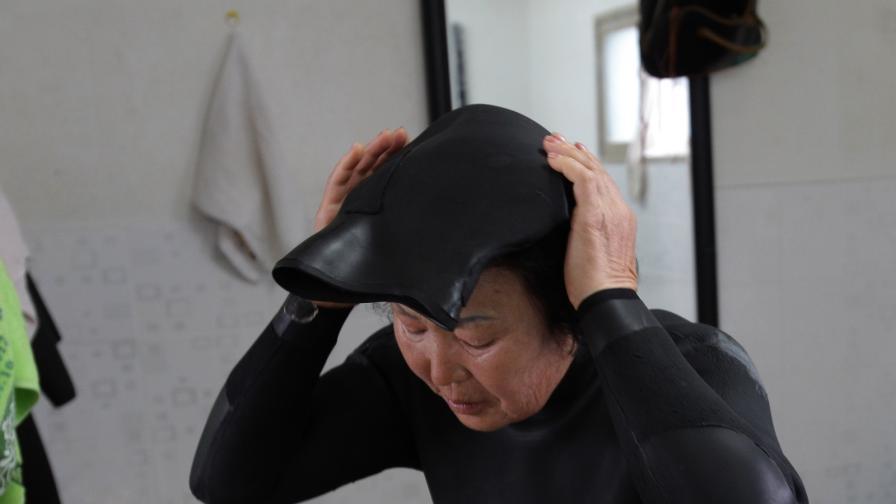 Митичните корейски жени-гмуркачи