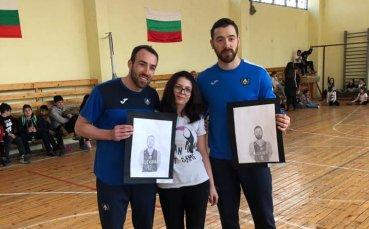 Баскетболистите на Левски Лукойл се върнаха в училище