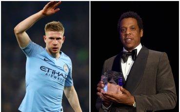 Звезда на Манчестър Сити подписа с Jay-Z