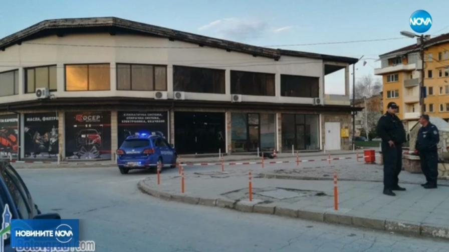 Мъж уби жена си в Ботевград, градът е отцепен