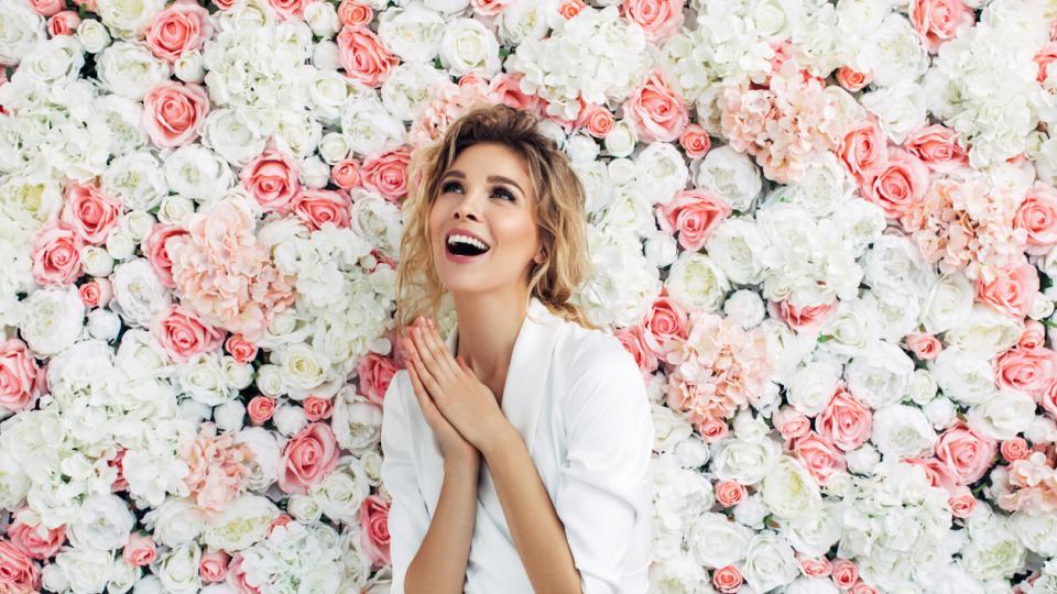 жена красота пролет
