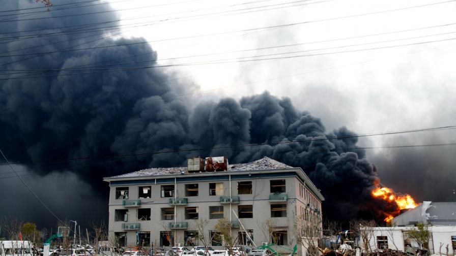 В Китай: Над 60 са жертвите на взрива, една от най-тежките промишлени злополуки за последните години