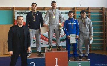 Националът Микай Наим спечели турнир по борба в Беларус
